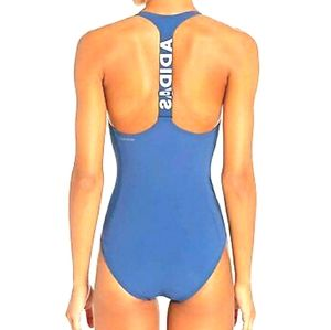 NWT ADIDAS Sporty Tech Indigo Zip front Swimsuit